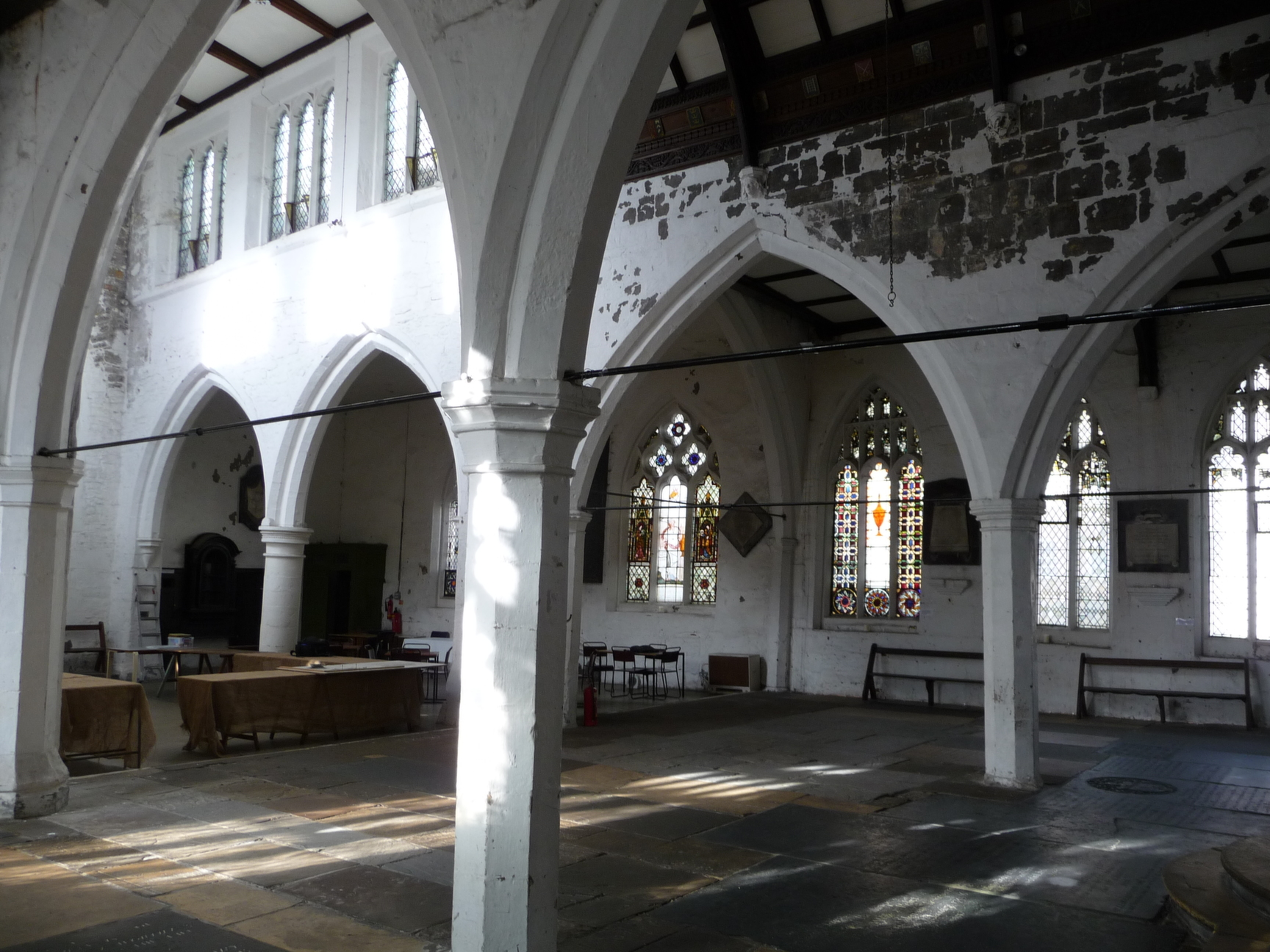 Interior looking north-west